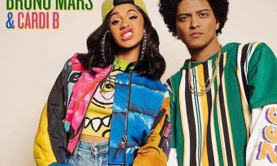 Cardi B and Bruno Mars Dripping in Finesse