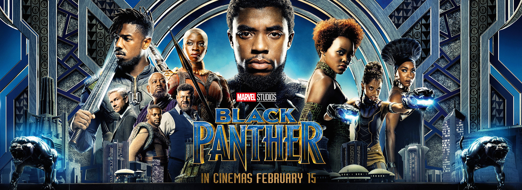 Image result for black panther banner