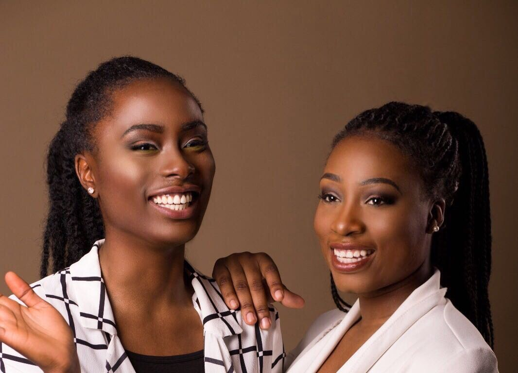 Janet and Stephanie founders of Melanin Wonder